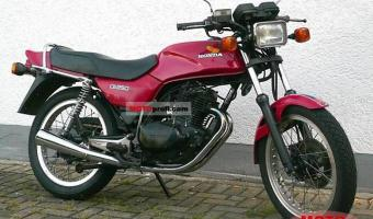1981 Honda CB250RS (reduced effect)