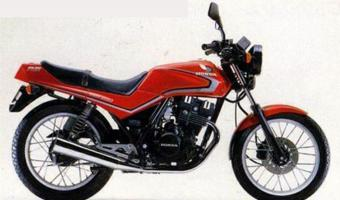1982 Honda CB250RS (reduced effect)