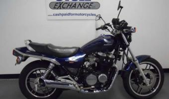 1985 Honda CB450N (reduced effect)