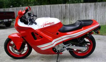 Honda CBR600F (reduced effect)