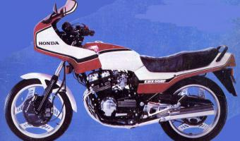 1983 Honda CBX550F2 (reduced effect)