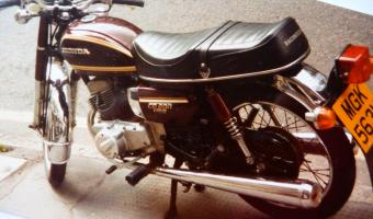 1984 Honda CD200T Benly