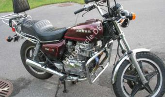1980 Honda CM400T (reduced effect)