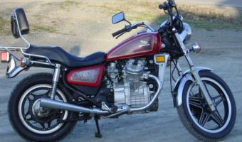 1983 Honda CX500 SC (reduced effect)