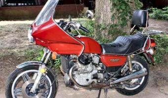 1984 Honda CX500E (reduced effect) #1
