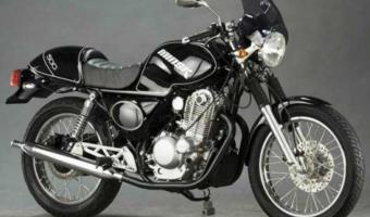 Honda GB500 Clubman (reduced effect)
