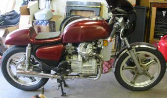 Honda GL500 Silver Wing (reduced effect)