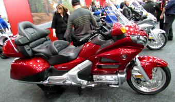 2013 Honda Gold Wing Airbag #1