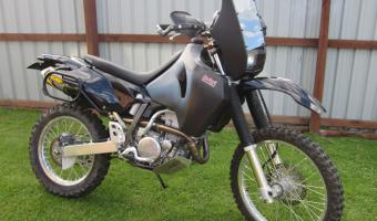 1989 Honda NX650 Dominator (reduced effect)