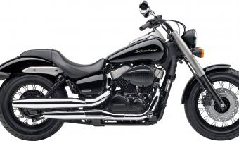 2010 Honda Shadow 750 Black Spirit