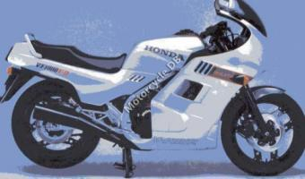 1987 Honda VF1000F (reduced effect)