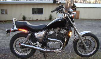 1983 Honda VT500C (reduced effect)