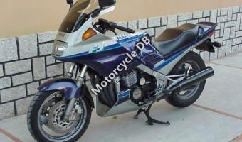 1990 Honda XBR500 (reduced effect) #1