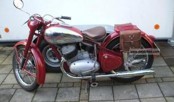 Jawa 350 Type 638.5 (with sidecar)