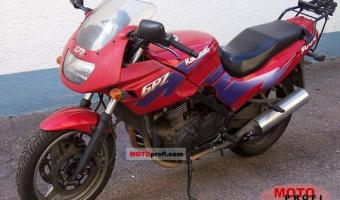 1988 Kawasaki GPZ500S (reduced effect)