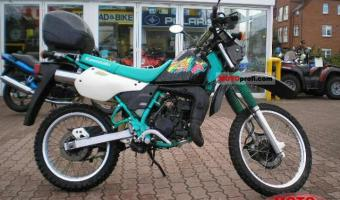 1988 Kawasaki KMX125 (reduced effect) #1
