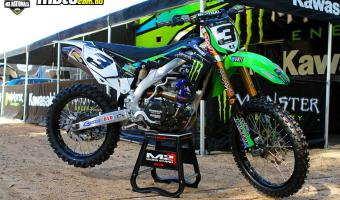 Kawasaki KX450F Monster Energy