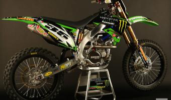 2010 Kawasaki KX65 Monster Energy