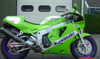 1990 Kawasaki ZXR750 (reduced effect)