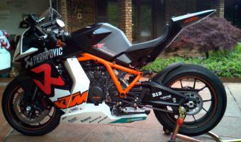 2010 KTM 1190 RC8 R Akrapovic Limited Edition #1