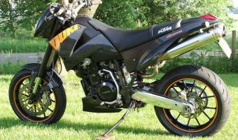 2005 KTM 640 Duke II Black #1