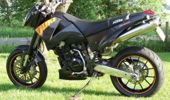 KTM 640 Duke II Black