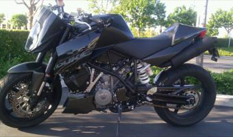 2005 KTM 990 Superduke Black