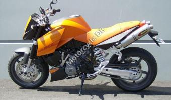 2005 KTM 990 Superduke Orange