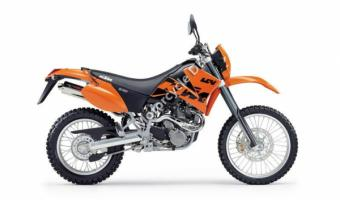 2001 KTM LC4 620 Super Competition