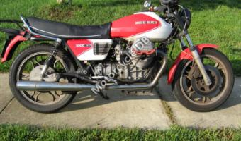 1991 Moto Guzzi 1000 Quota Injection #1