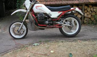 1988 Moto Guzzi V65 Florida (reduced effect)