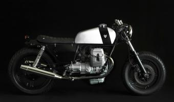 1987 Moto Guzzi V75 (reduced effect)