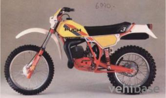 1986 Puch GS 125 HF #1
