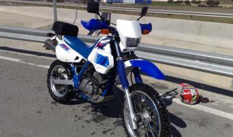 Suzuki DR 600 R Dakar (reduced effect)