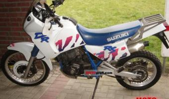 1991 Suzuki DR 650 R Dakar (reduced effect) #1