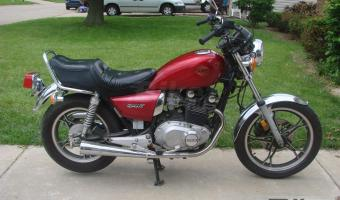 Suzuki GS 450 L (reduced effect)