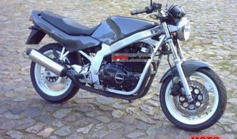 1981 Suzuki GS 500 E (reduced effect)