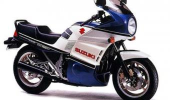1986 Suzuki GSX 1100 EF (reduced effect)