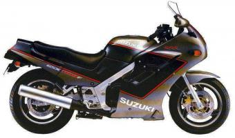 Suzuki GSX 1100 EF (reduced effect)