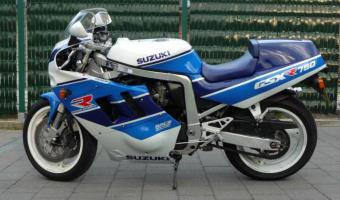1990 Suzuki GSX-R 750 (reduced effect)