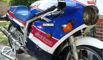 Suzuki GSX-R 750 Special Edition (reduced effect)