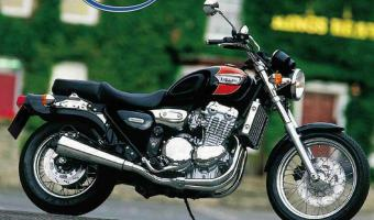 1991 Triumph Trident 750 (reduced effect) #1