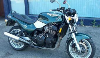 1992 Triumph Trident 750 (reduced effect)