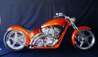 2010 West Coast Choppers El Diablo Swingarm