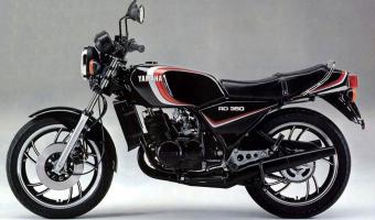 1982 Yamaha RD 250 LC (reduced effect)
