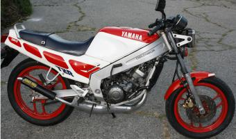 1986 Yamaha RD 350 F (reduced effect)