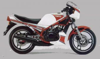 Yamaha RD 350 (reduced effect)