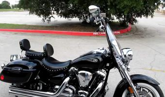 2005 Yamaha Road Star Midnight Silverado 1700