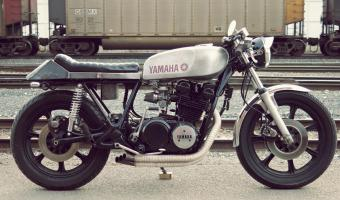 Yamaha XS 750 US. Custom