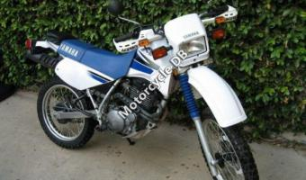 1986 Yamaha XT 350 (reduced effect)